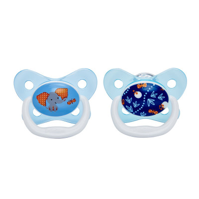 "Dr Browns PreVent Pacifier 6-12m ""Blue"" 2 Pack"