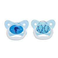 "Dr Browns PreVent Pacifier 12m+ ""Blue"" 2 Pack"