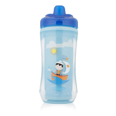 Dr Browns Hard Spout Insulated Cup for Boys 300ml