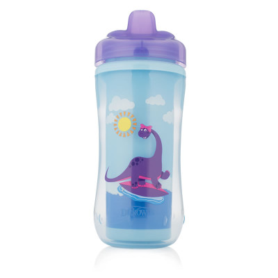 "Dr Browns Hard Spout Insulated Cup 300ml ""Purple"""