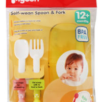 Pigeon Self-Weaning Spoon & Fork
