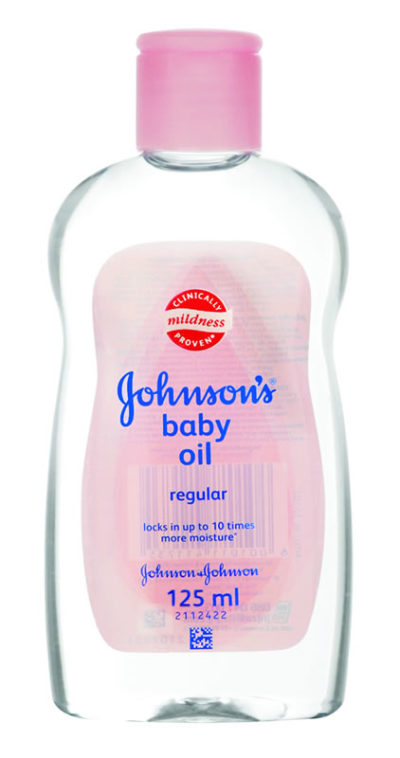 Johnson's Baby Oil 125ml