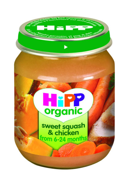 Hipp Sweet Squash & Chicken 125g