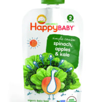 Happy Baby Stage 2 Spinach Apple & Kale 113g