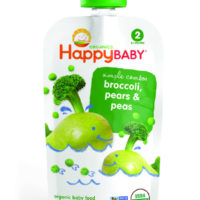 Happy Baby Stage 2 Broccoli Pear & Peas 113g