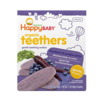 Happy Baby Blueberry & Purple Carrot Teether Wafers