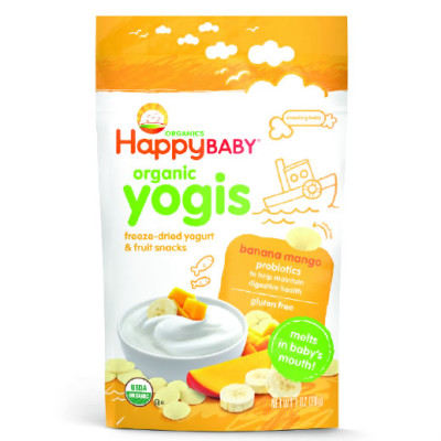 Happy Baby Yogis Banana & Mango 28g