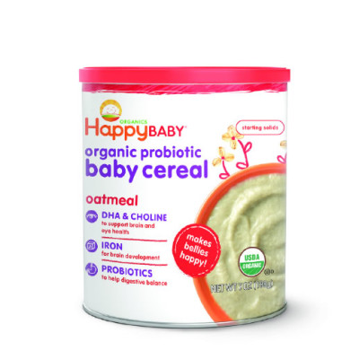 Happy Baby Oatmeal Cereal 198g