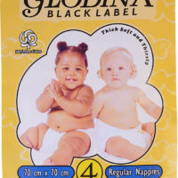 BLACK LABEL 70X70 NAPPIES