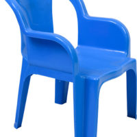 "Jolly Tuff Tots Chair ""Bubble Blue"""