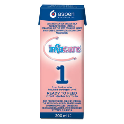Infacare 1 Ready to Feed 200ml