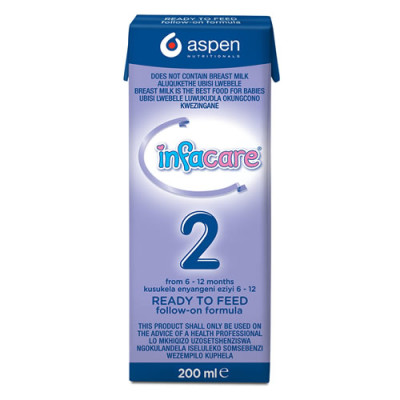 Infacare 2 Ready to Feed 200ml
