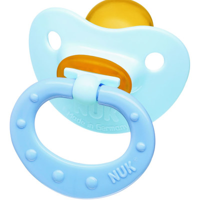 Latex Baby Blue Soother Sz2