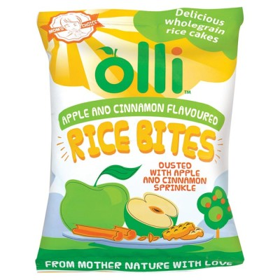 Olli Apple & Cin Rice Bites