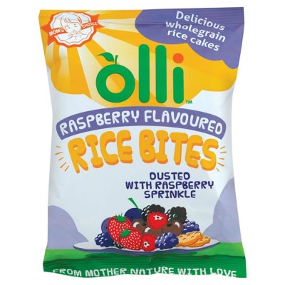 Olli Raspberry Rice Bites