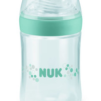 NUK Nature Sense Bottle with Silicone Teat 260ml Sz2 Green
