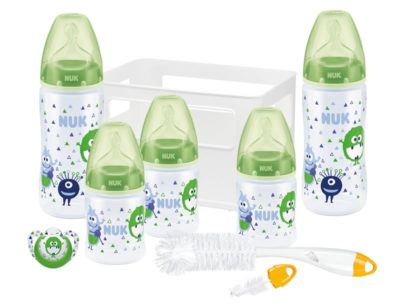 NUK First Choice Crate Starter Pack Green