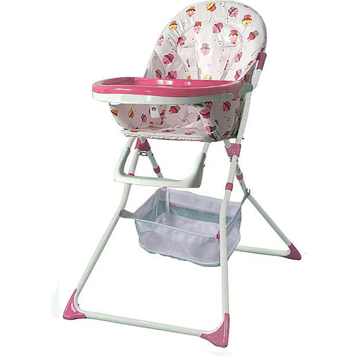 JUST BABY EASY MEAL HIGH CHAIR GIRL