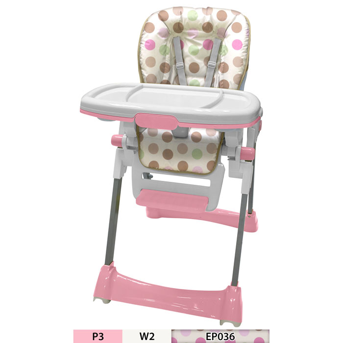 JUST BABY HAPPY MEAL HIGH CHAIR GIRL
