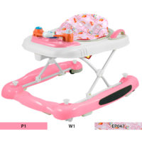 JUST BABY 3 IN 1 BABY WALKER ROCKER PUSHER GIRL