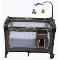 JUST BABY PLAY PEN PLAID