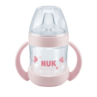NUK Nature Sense Learner Bottle 150ml - Pink