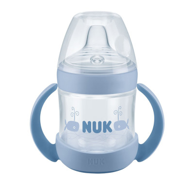 NUK Nature Sense Learner Bottle 150ml - Blue